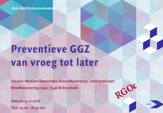 Afbeeldingsresultaat voor Preventieve GGZ