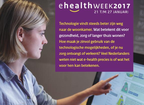 Afbeeldingsresultaat voor E-Healthweek 2017.